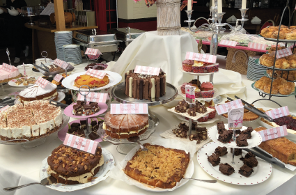 lucy's inn high tea buffet
