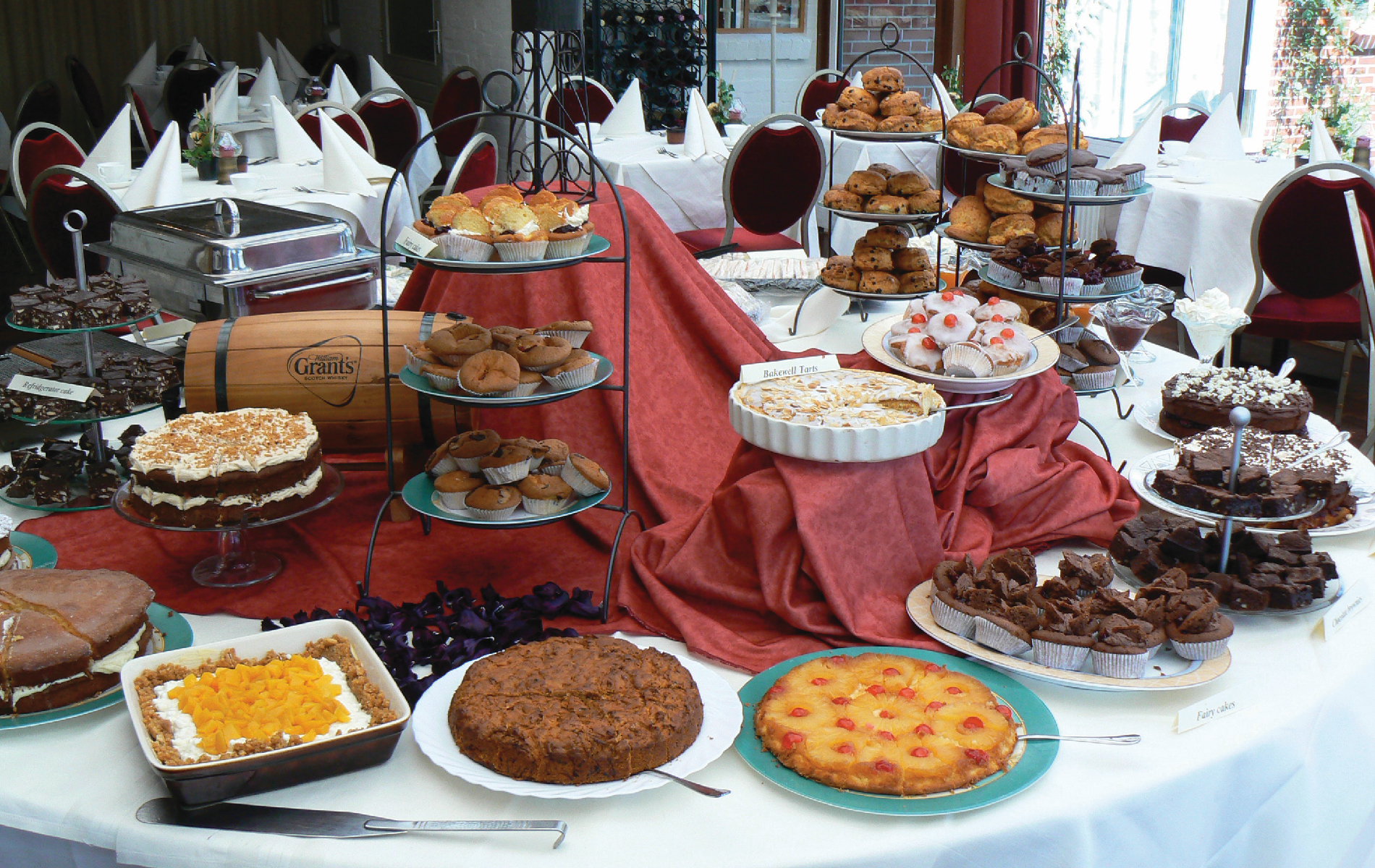 Lucy's High Tea Buffet